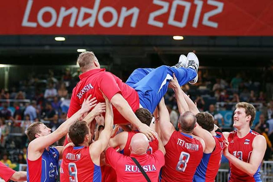 Russia defeat Brazil for volleyball gold