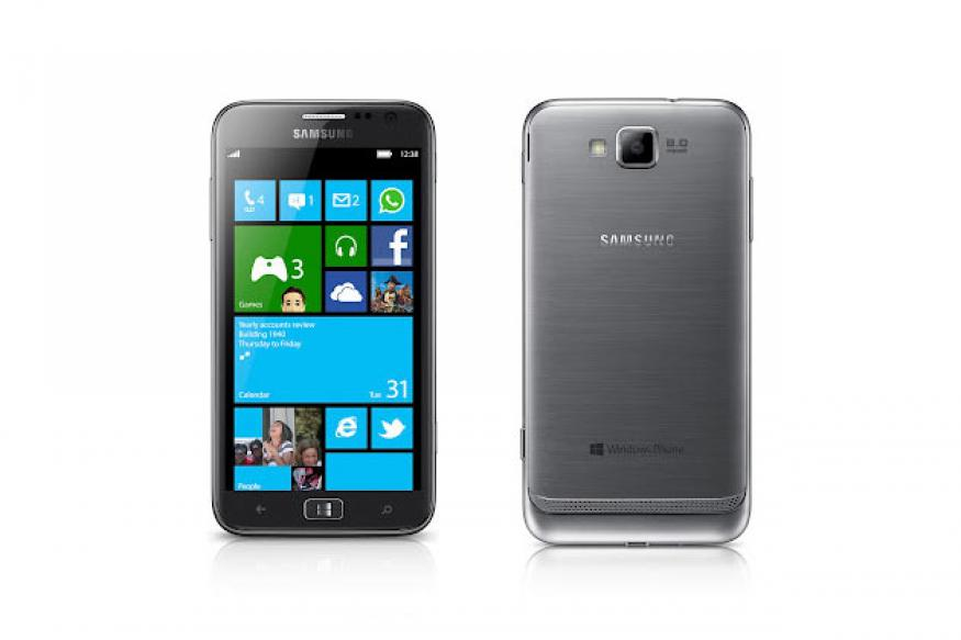Samsung ATIV S - the first Windows Phone 8 phone