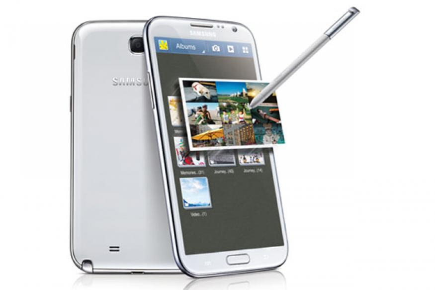 Samsung unveils the new Galaxy Note II phablet