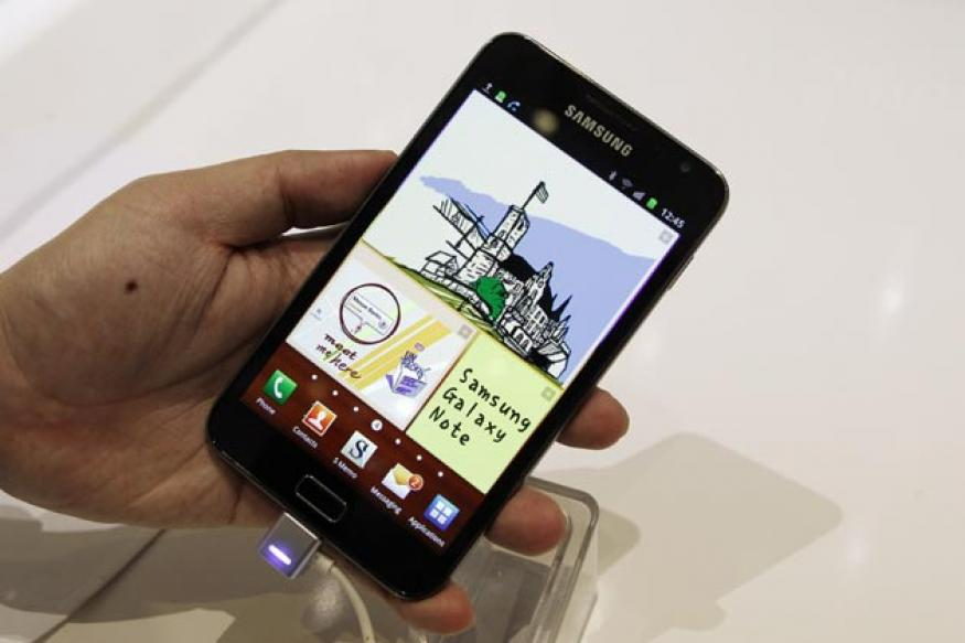 Galaxy Note 2 may have flexible screen: Report