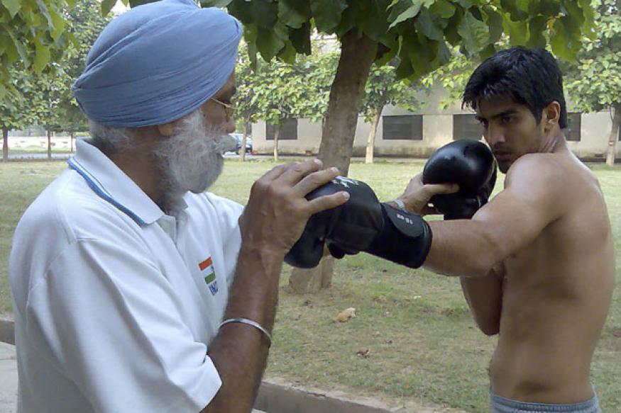 Olympics setback has motivated boxers: Sandhu