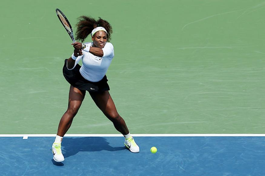 Serena spars with reporters over dance