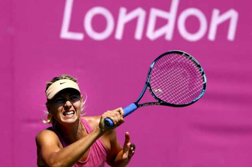 Olympics: Sharapova advances to semi-finals