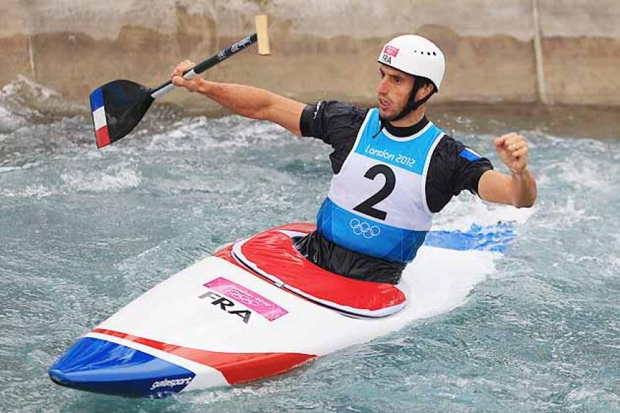 Estanguet wins gold in canoe slalom at Olympics