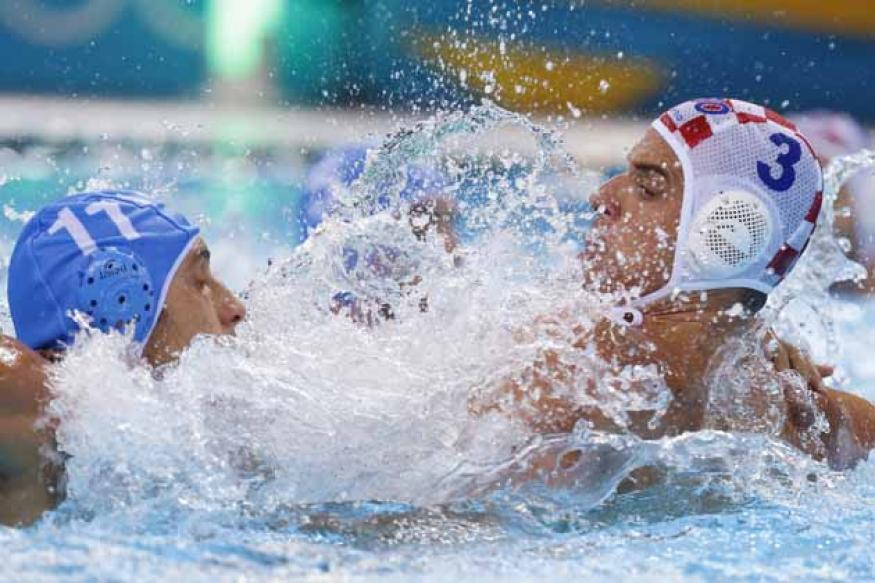 Croatia wins 1st Olympic water polo title