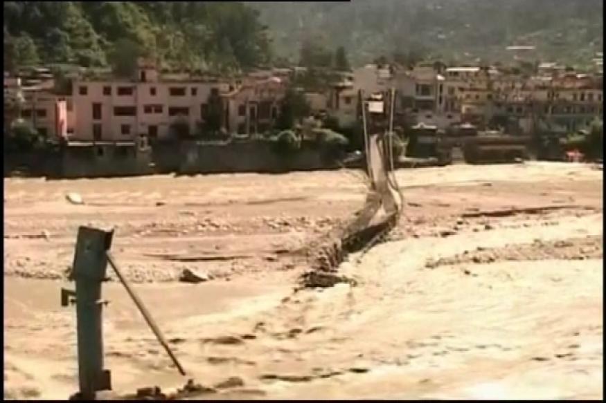 Uttarkashi: Flash floods cut off 60 villages