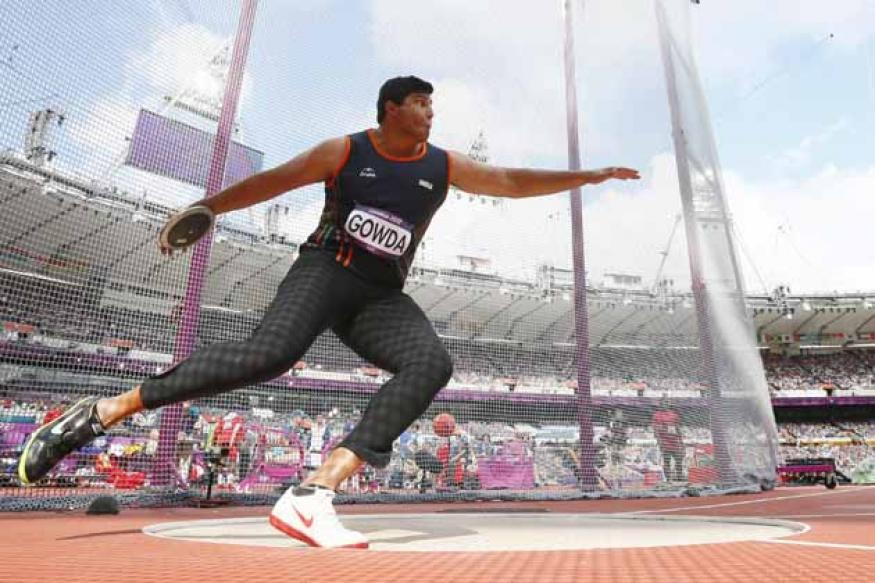 Discus thrower Gowda qualifies for the final