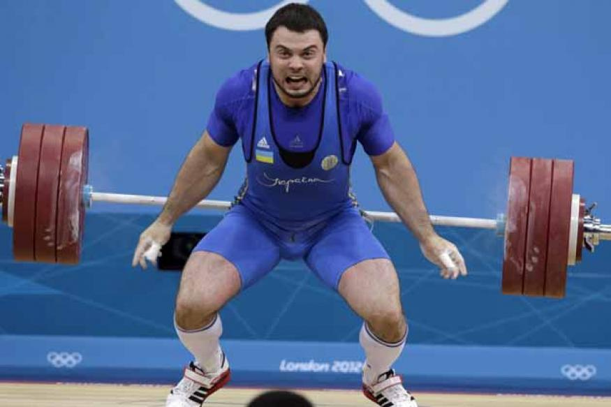 Ukraine's Torokhtiy wins weightlifting gold