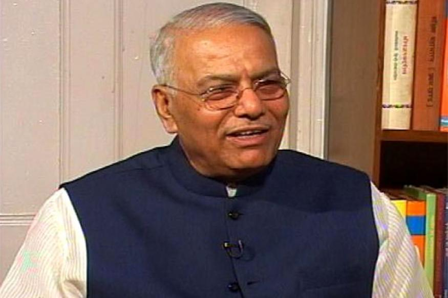 Yashwant Sinha alleges his phone is being tapped