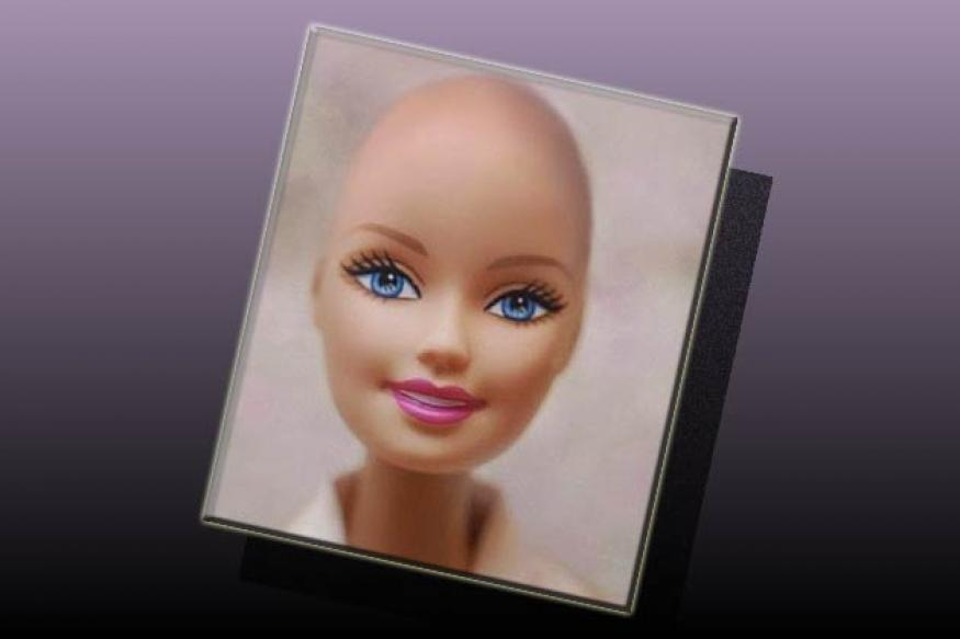 'Bald Barbie' dolls bring joy to cancer victims