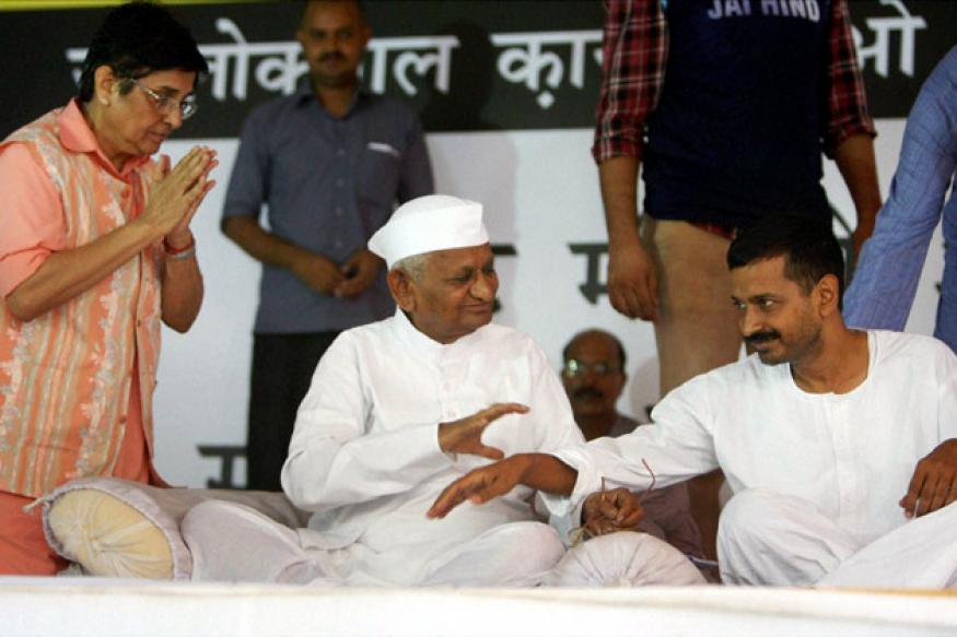Anna Hazare-Arvind Kejriwal divide grows