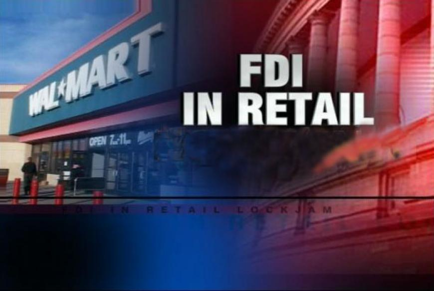 FDI in retail: the choice lies with state govts