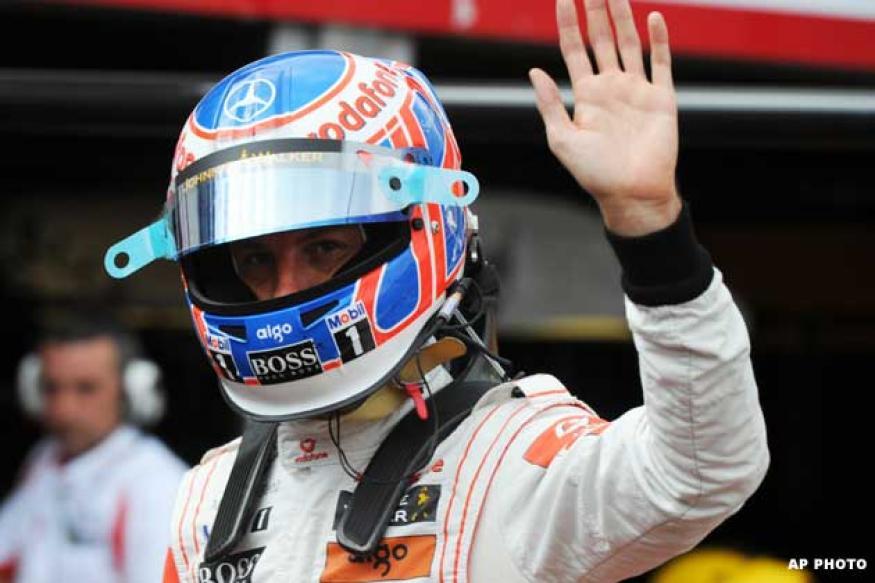 Brilliant Button takes Belgian Grand Prix
