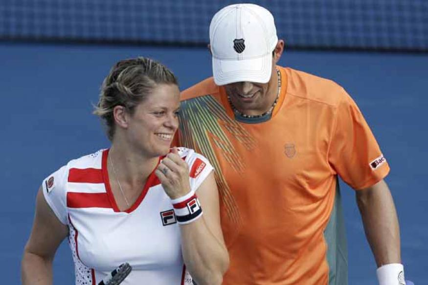 Clijsters' career ends after mixed doubles loss