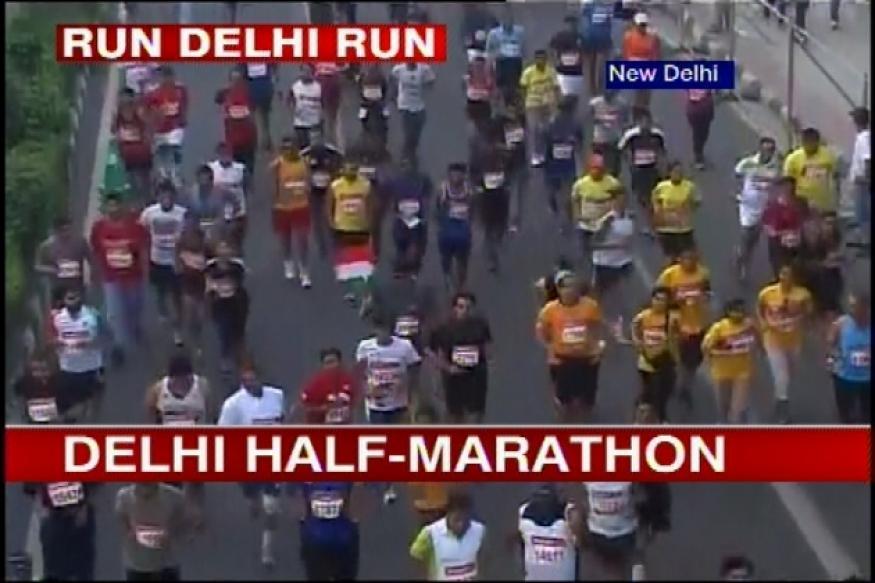 Delhi Half Marathon: Kenya's Edwin wins Men's category