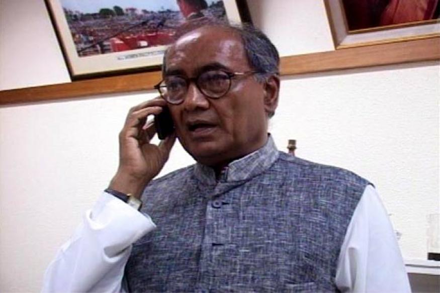 BJP shielding all their corrupt leaders: Digvijaya