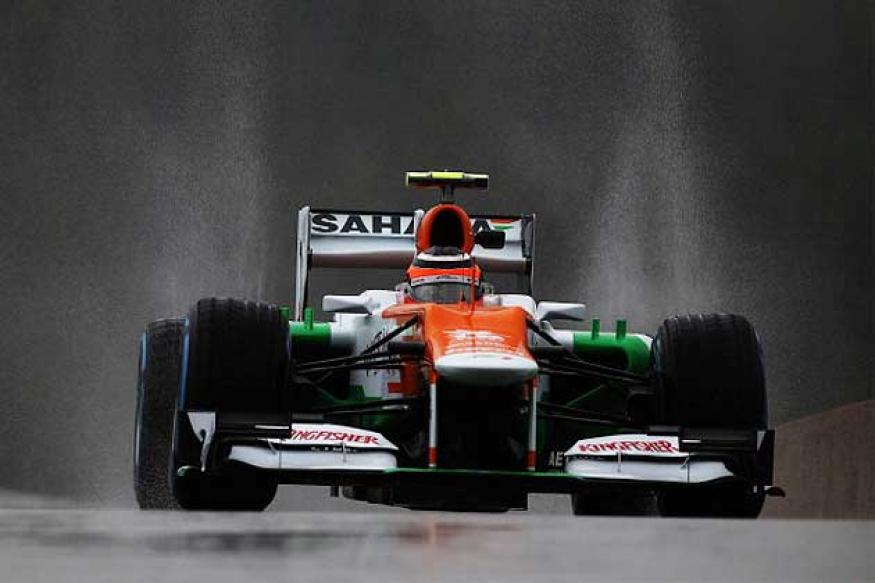 Force India secure 13 points from Belgian GP