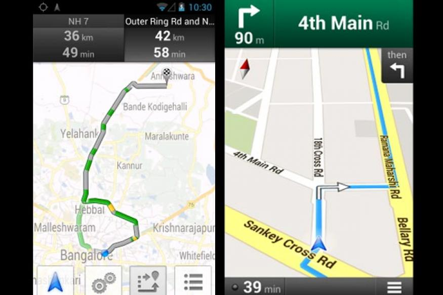 Google Maps gets navigation, live traffic updates in India