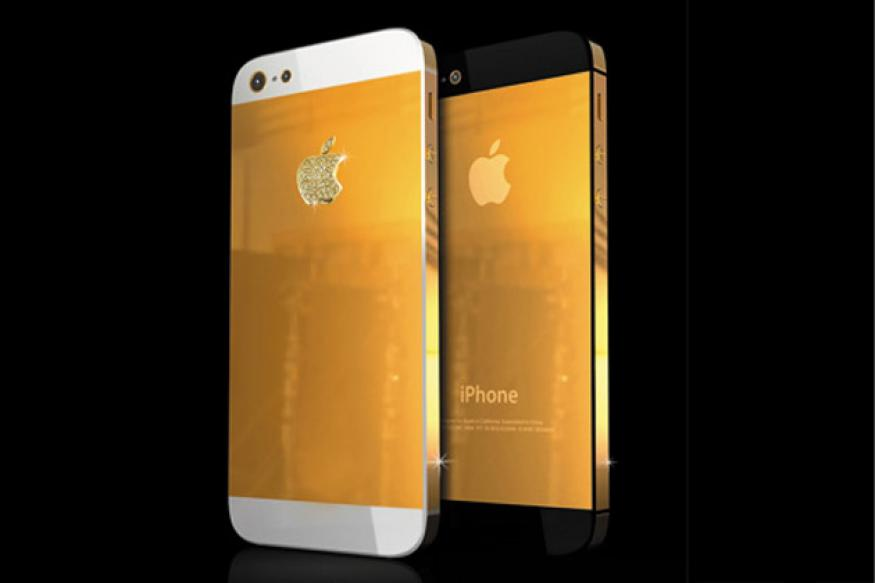 Gold-plated iPhone 5 goes on sale