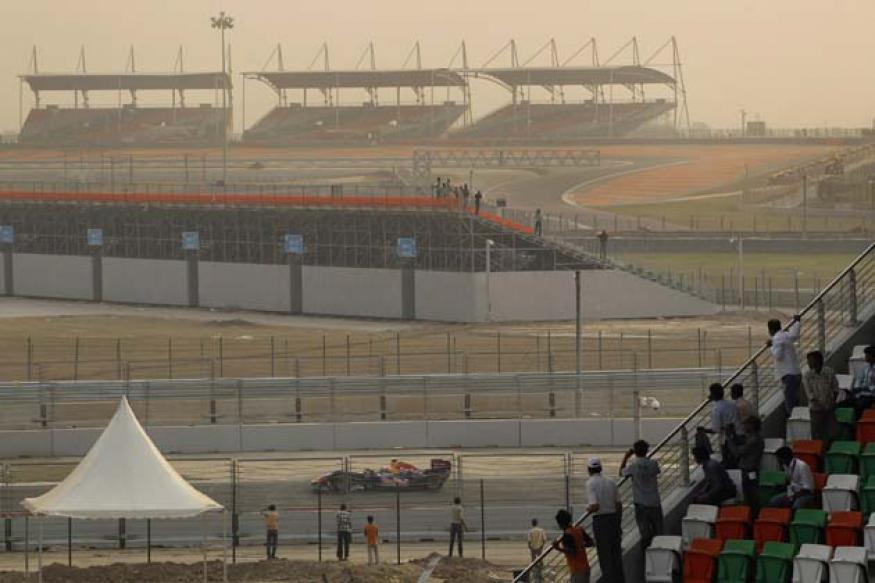 30,000 tickets sold for Indian F1 Grand Prix