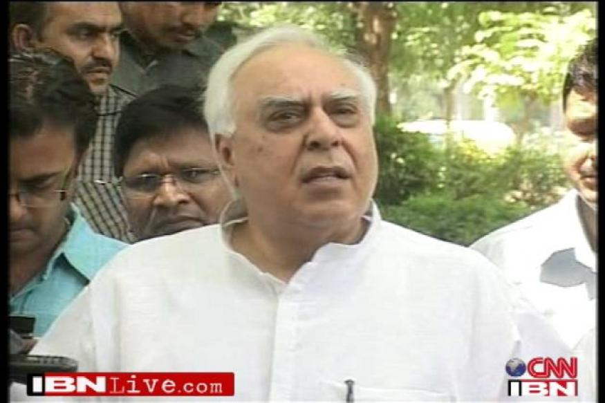 BJP lying to the people on coal allocation: Sibal