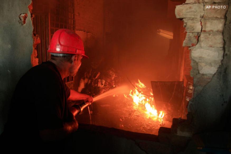 Karachi factory fire: Emergency exits were locked