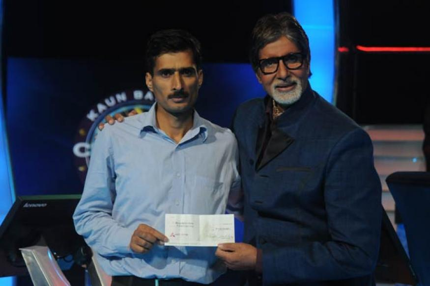 'KBC 6's first crorepati is Kashmir's Manoj Raina