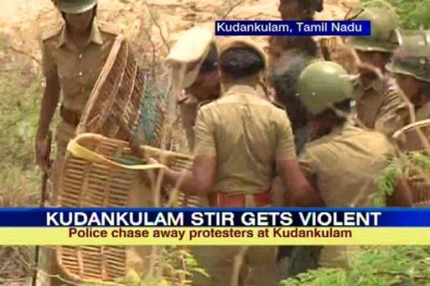 Kudankulam: Fresh violence as protestors block highway