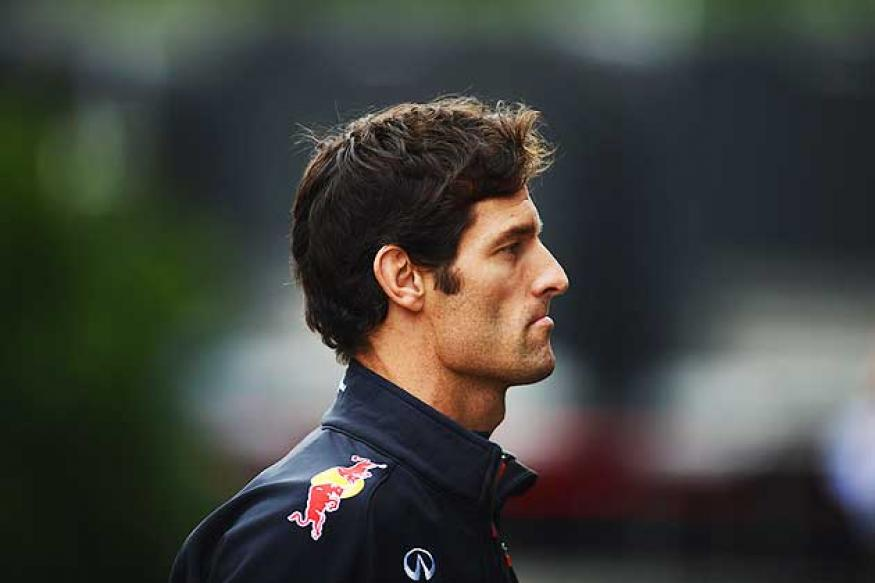 Mark Webber handed five-place penalty for Spa