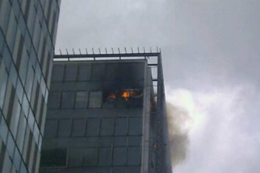 Mumbai: Fire in a building in Bandra Kurla Complex