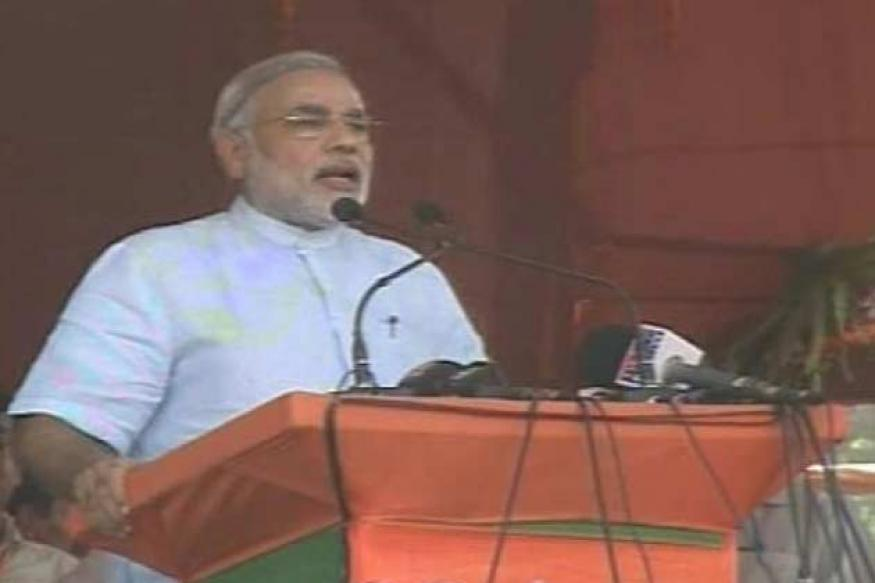 Gujarat polls: Modi campaigns in Vivekananda's name