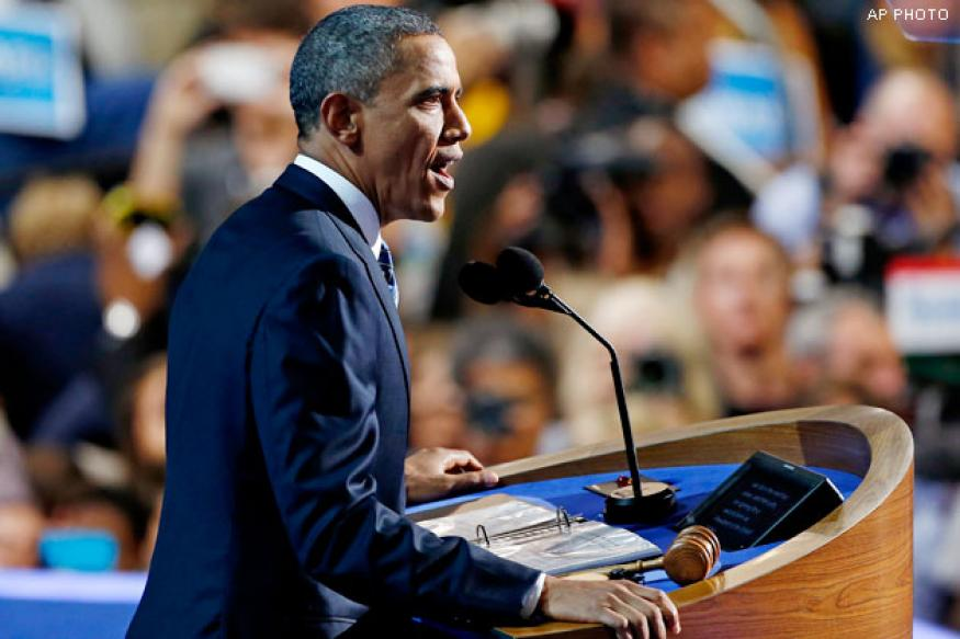 Obama draws biggest convention TV audience