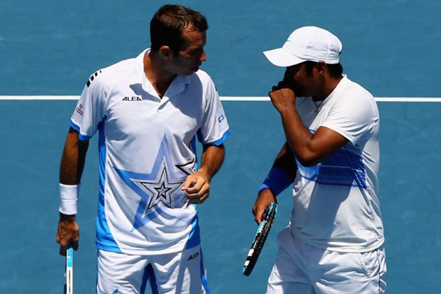 Paes-Stepanek storm into US Open semi-finals