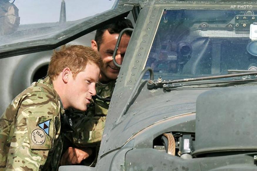 UK: Palace won't complain over naked Harry photos