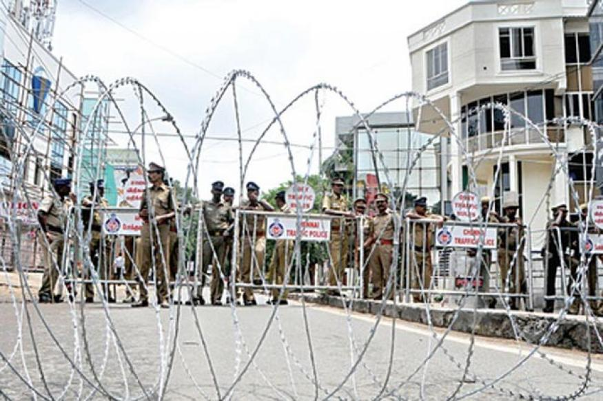 Anti-Rajapaksa protests choke Chennai