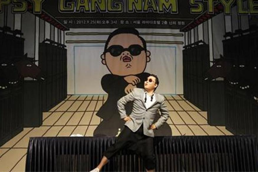 Psy vows topless show if 'Gangnam-style' reaches No 1