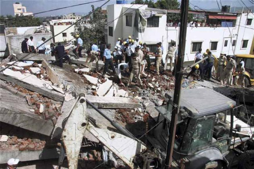 Pune building collapse: Death toll climbs to 11