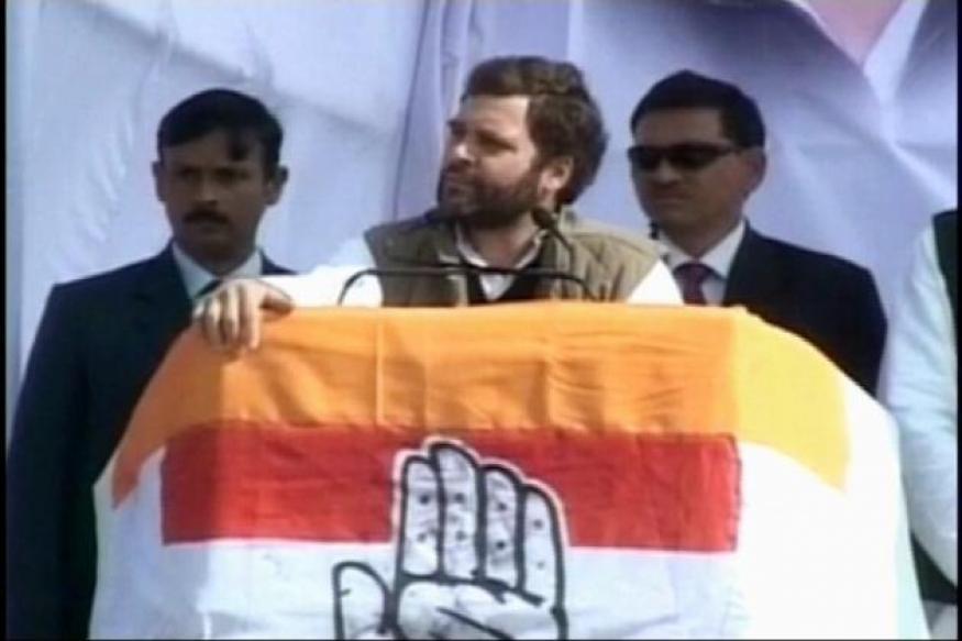 Rahul Gandhi's Amethi visit sees protests again