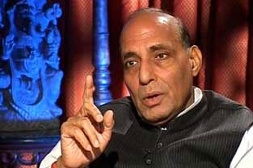 Will settle for nothing but PM's resignation: Rajnath