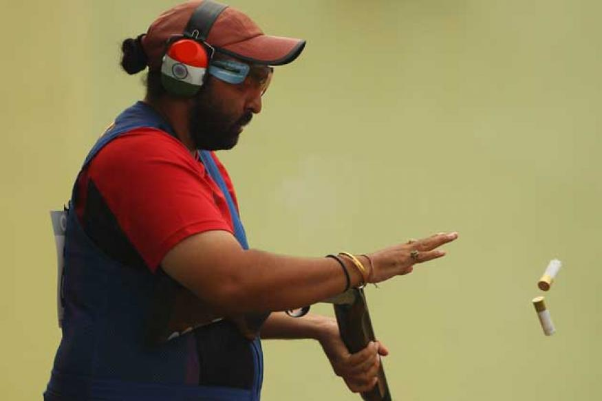 Ronjan Sodhi wins siver in double trap World Cup