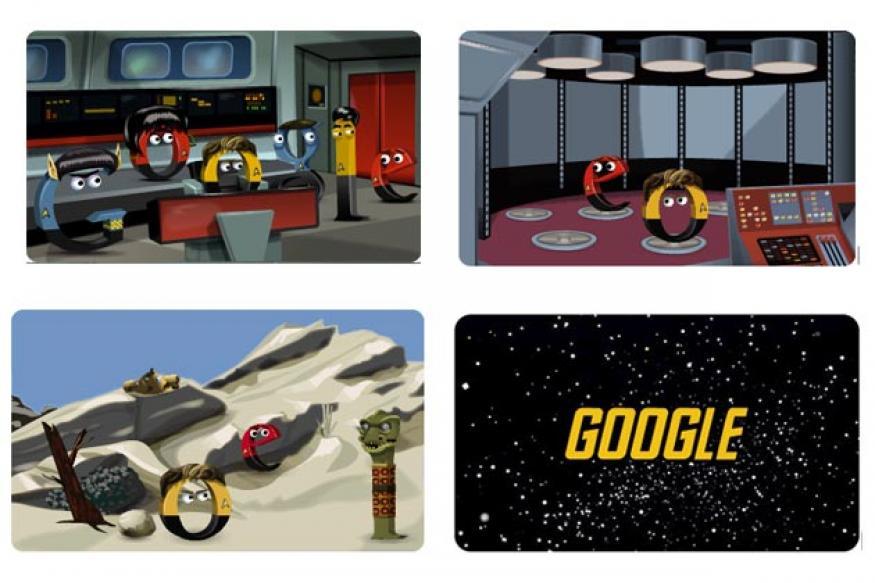 Google doodles 'Star Trek: The Original Series'