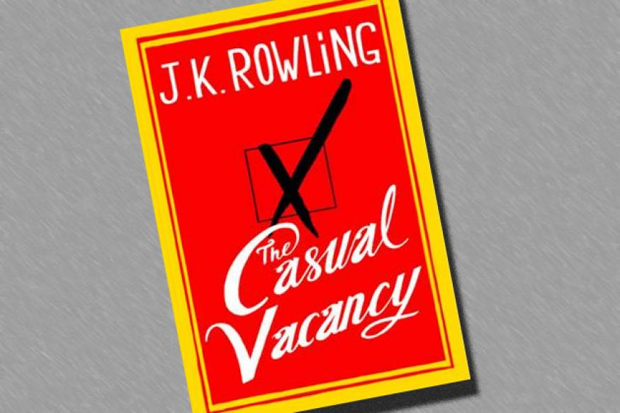 Rowling's adult novel releases tomorrow