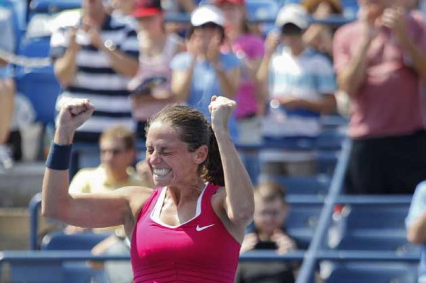 Radwanska shown the door by Italian Vinci