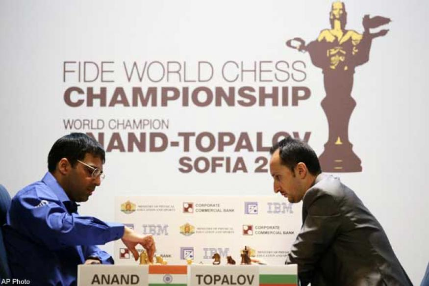 Anand draws again in Chess Masters