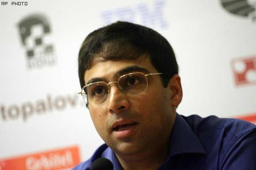 Anand held by leader Caruana in Chess Masters