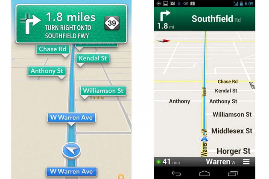 Review: Apple maps app vs Google Maps app