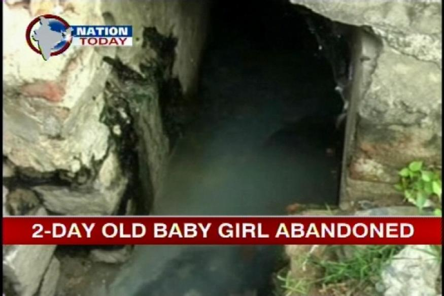 AP: 2-day-old baby girl found abandoned in drain