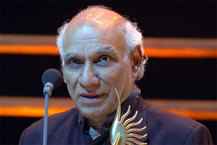 Filmmaker Yash Chopra admitted to hospital