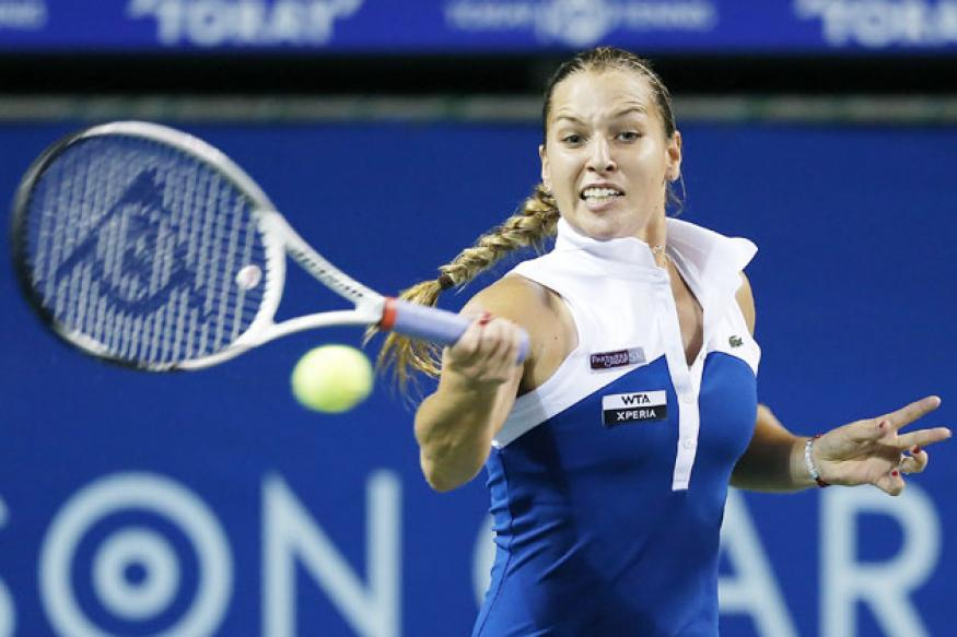 Cibulkova advances to 2nd round at Kremlin Cup