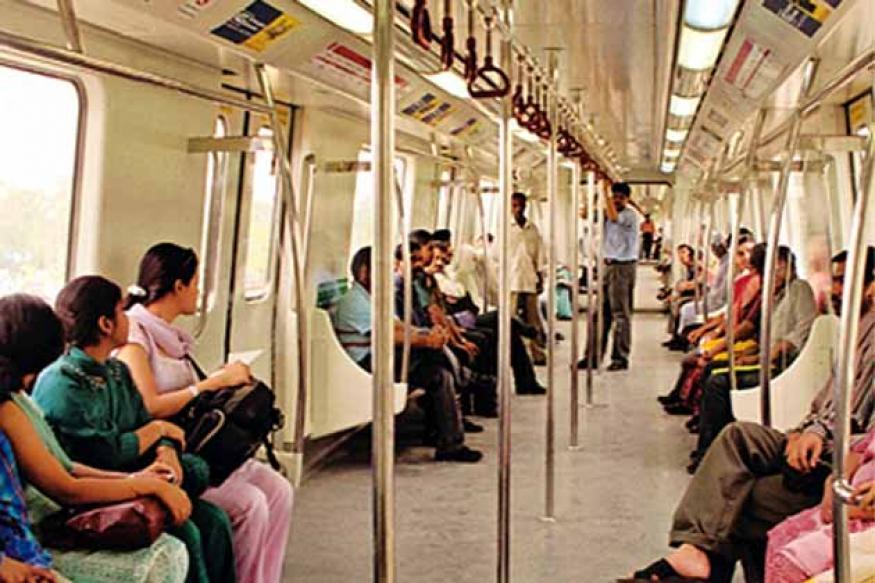 Men in Delhi Metro women's coaches fined Rs 32 lakh